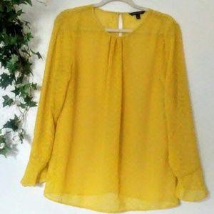 Banana Republic yellow shirt